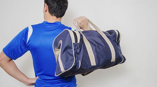 วิธีการเลือกกระเป๋ากีฬา กระเป๋าฟิตเนส