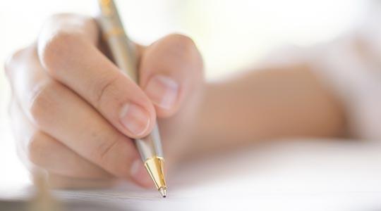 วิธีการเลือกซื้อปากกา