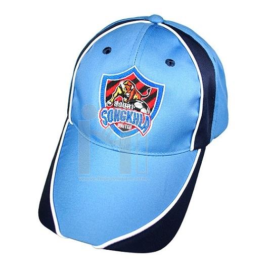 หมวกแก๊บตัดต่อสี