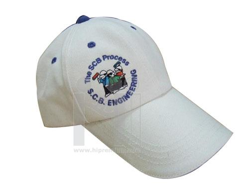 หมวกแก๊บสีเดียว ผ้า6ชิ้น