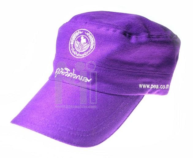 หมวกทรงเกาหลี หมวกแก๊ปสีเดียวผ้าพีช