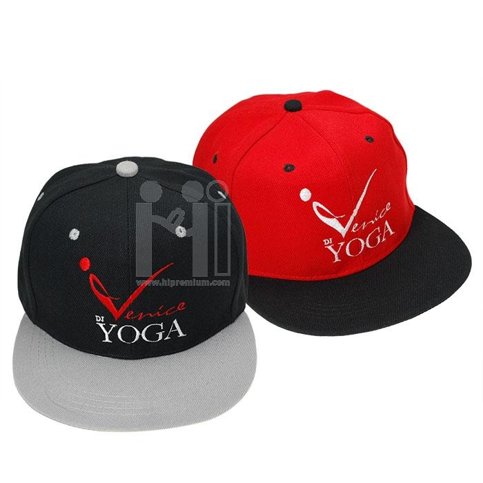 หมวกแก๊ปทูโทน หมวกสต๊อก งานด่วนขั้นต่ำ50ใบ หมวกฮิปฮอป