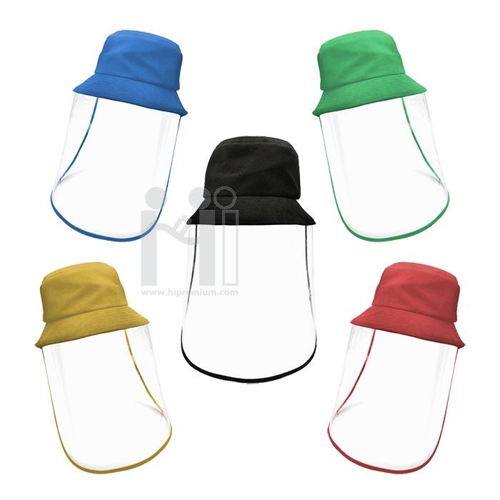 หมวกป้องกันเชื้อโรค ทำโลโก้ตามสั่ง<br>หมวกบัคเก็ตกันเชื้อโรคสั่งทำ