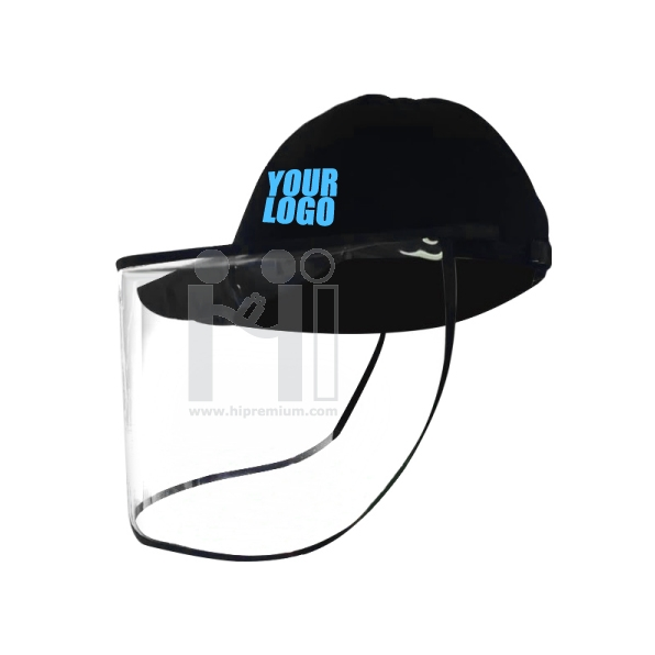 หมวกป้องกันเชื้อโรค ทำโลโก้ตามสั่ง<br>หมวกแก๊ปกันเชื้อโรคสั่งทำ