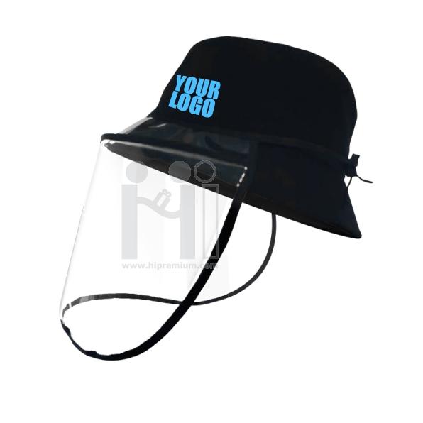หมวกป้องกันเชื้อโรค ทำโลโก้ตามสั่งหมวกบัคเก็ตกันเชื้อโรคสั่งทำ