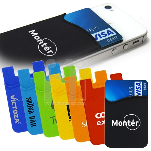 л═зл╘┼╘тд╣╡╘┤т╖├╚╤╛╖ь┴╫═╢╫═Silicone Card Pocket for Mobile phone