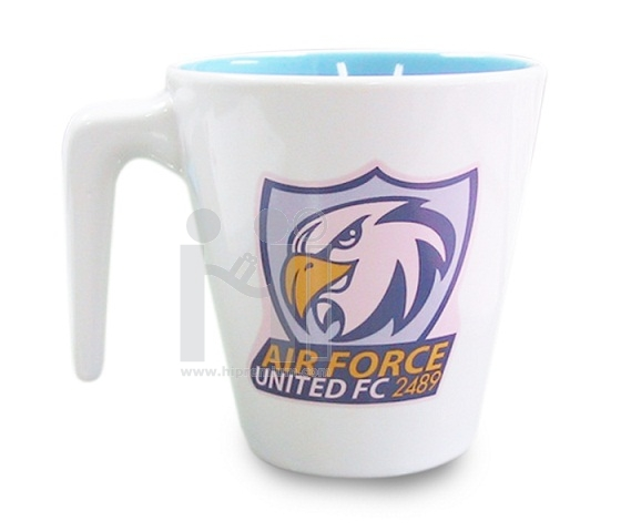 แก้วมักสีขาวครีม แก้วกาแฟเซรามิกมัค