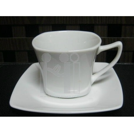 ชุดแก้วกาแฟพร้อมจานรองแก้ว