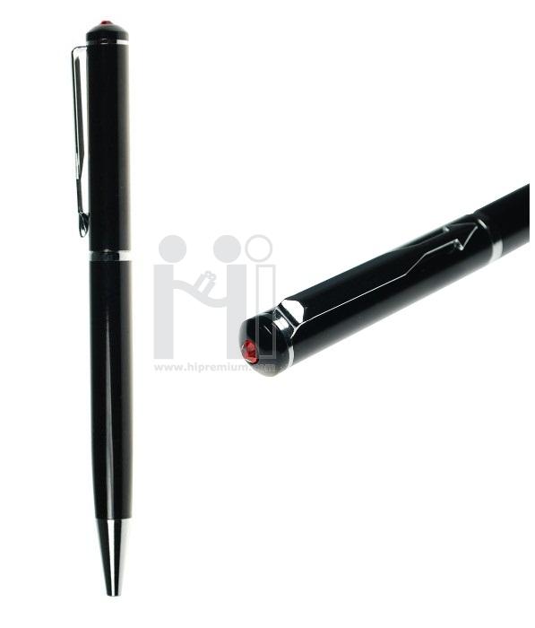 ปากกาคริสตัลแท้เกรดเอ คริสตัลแท้สีแดง