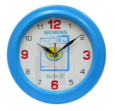 นาฬิกาแขวนผนังทรงกลม  11.5  นิ้ว ขอบพลาสติก