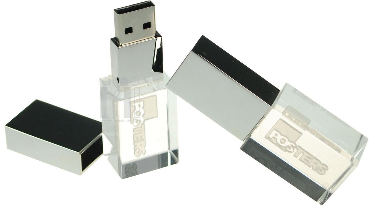 3D crystal USB flash drive  บริษัท โพสเทอร์ จำกัด