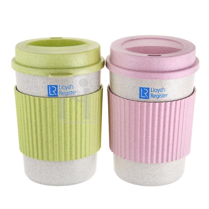 Eco Cup แก้วน้ำฟางข้าวสาลี