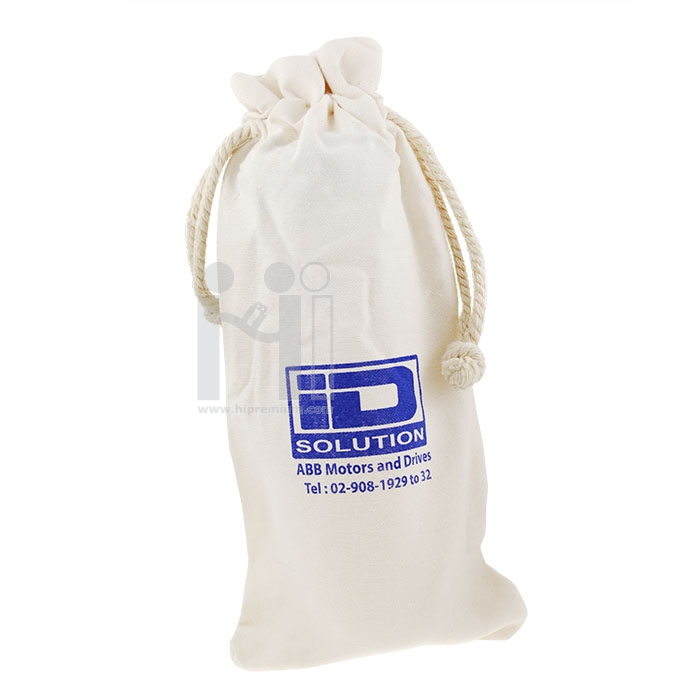 กระบอกน้ำพลาสติก บรรจุถุงผ้า บริษัท ไอดี โซลูชั่น