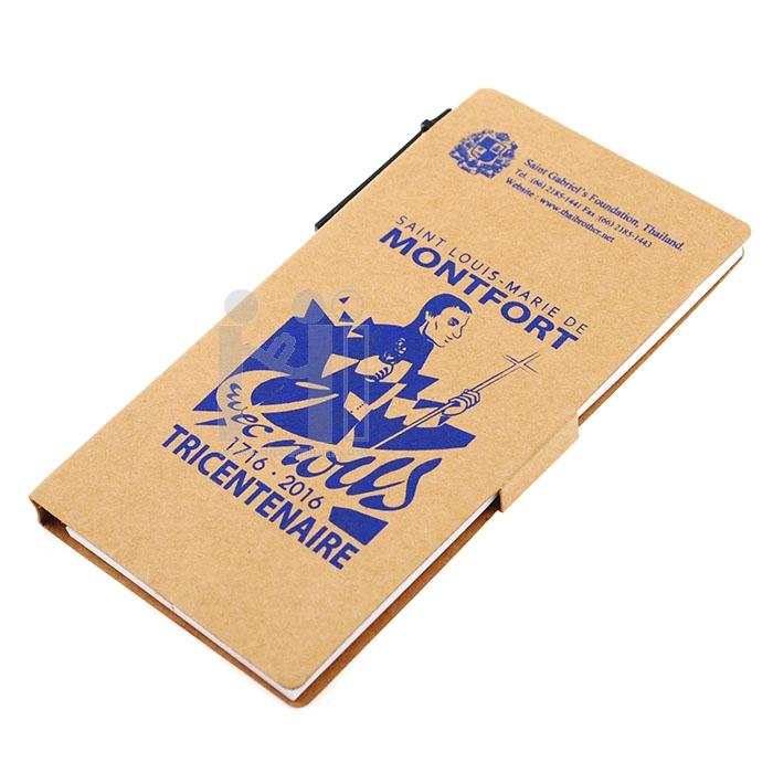 ชุดสมุดโน้ตรีไซเคิลพร้อมปากกากระดาษ มูลนิธิคณะเซนต์คาเบรียลแห่งประเทศไทย