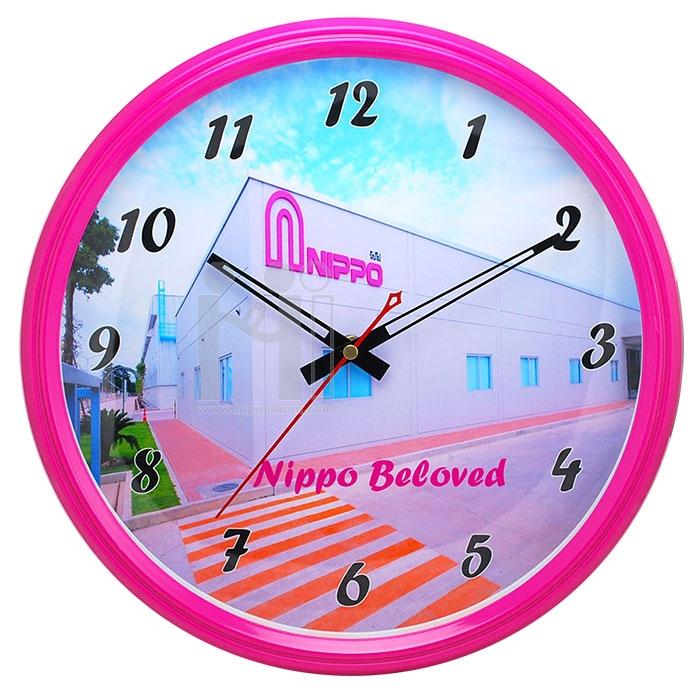 นาฬิกาแขวนกลม 12.5 นิ้ว Nippo Mechatronics