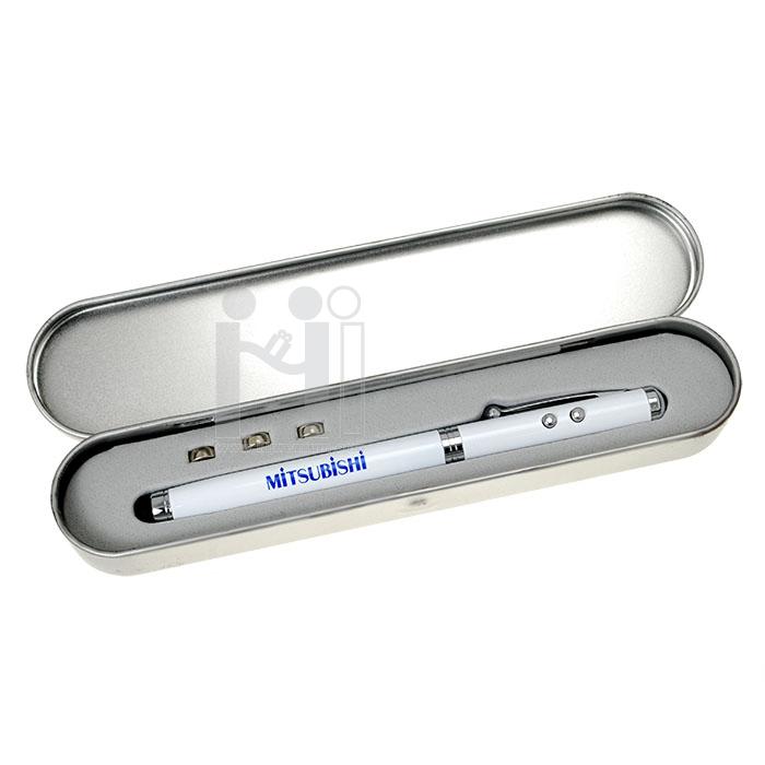 ชุดกล่องปากกาโลหะเลเซอร์