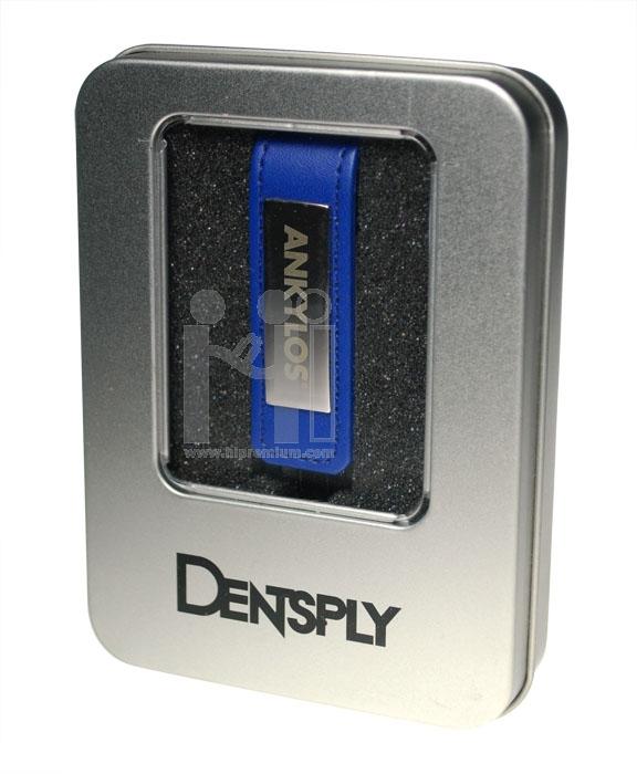 แฟลชไดร์ฟหนังประกบโลหะ Dentsply (Thailand) Limited