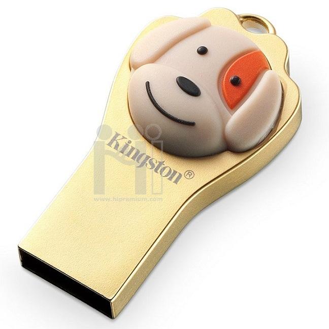 Flash Drive ปีจอ(สุนัข) แฟลชไดร์ฟคิงส์ตันแท้ Kingston DTCNY18 USB 3.1 ประกันศูนย์