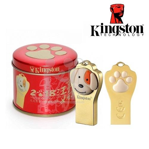 ***Flash Drive ปีจอ(สุนัข) แฟลชไดร์ฟคิงส์ตันแท้ Kingston DTCNY18 USB 3.1 ประกันศูนย์
