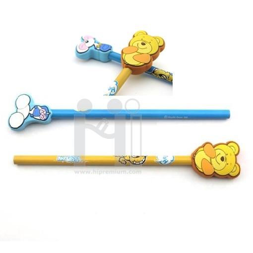 หัวเสียบปากกา/ดินสอ หัวเสียบยางหยอดพีวีซี ขึ้นรูปใหม่ตามสั่ง