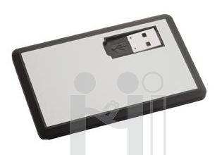 Flash Drive เครดิตการ์ดแฟลชไดร์ฟโลหะ