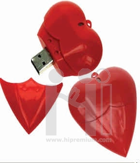 USB Flash Drive แฟลชไดร์ฟรูปหัวใจ