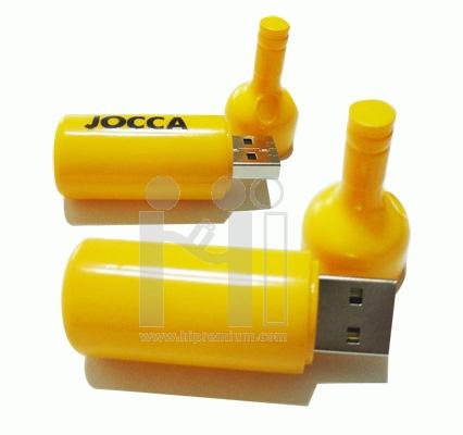 USB Flash Drive แฟลชไดร์ฟขวดไวน์