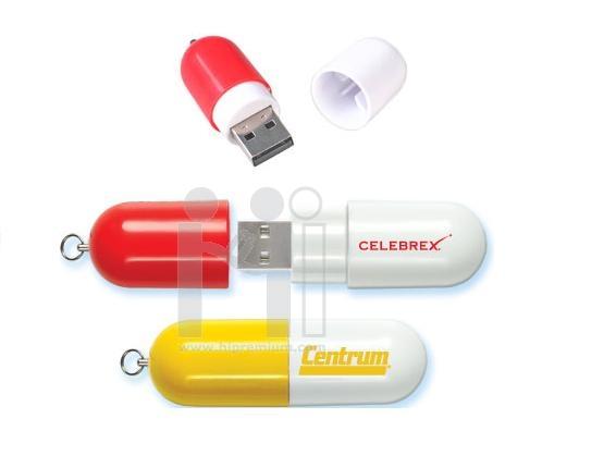 USB Flash Drive แฟลชไดร์ฟรูปแคปซูลยา