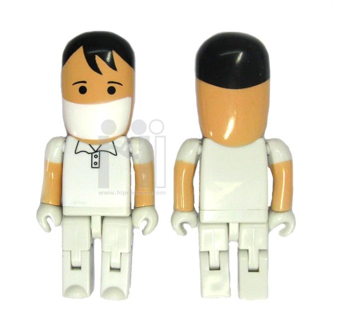 Human USB Flash Drive แฟลชไดร์ฟบุรุษพยาบาล