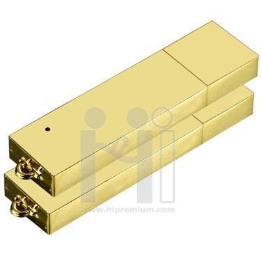 Flash Drive โลหะ แฟลชไดรฟ์ทองคำ ทองแท่ง