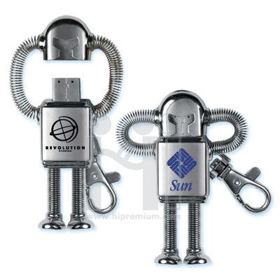 USB Robot Flash Drive แฟลชไดรฟ์ หุ่นยนต์  แฟลชไดร์ฟ โรบอท