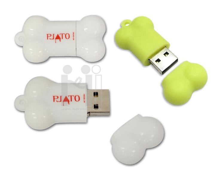 USB Flash Drive แฟลชไดร์ฟกระดูก