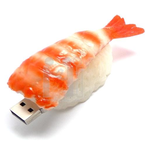 USB Flash Drive แฟลชไดร์ฟรูปข้าวปั้นหน้ากุ้ง