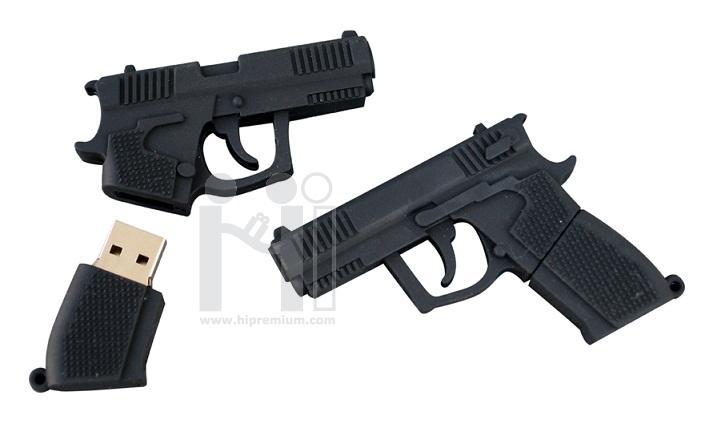 USB Flash Drive แฟลชไดร์ฟรูปปืน