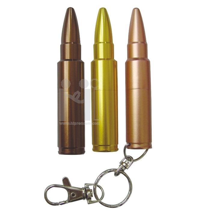 Flash Drive โลหะ แฟลชไดร์ฟลูกกระสุนปืน