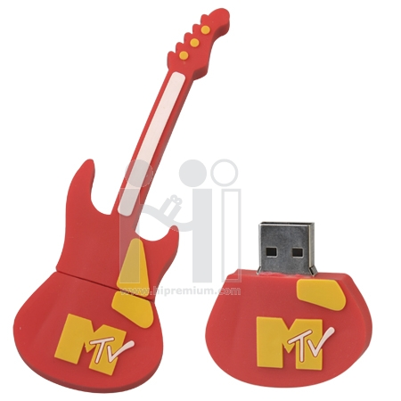 USB Flash Drive แฟลชไดร์ฟรูปกีต้าร์