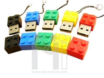 USB Flash Drive แฟลชไดร์ฟเลโก้ แฟลชไดรฟ์ตัวต่อ