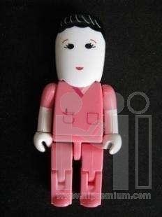 Human USB Flash Drive แฟลชไดร์ฟรูปพนักงาน