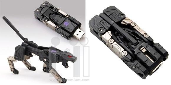Transformer USB Flash Drive แฟลชไดร์ฟหุ่นยนต์ทรานส์ฟอร์เมอร์แปลงร่างได้