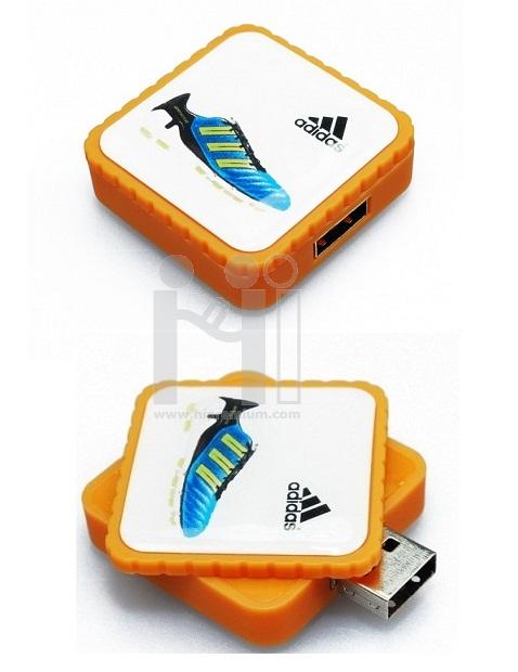 USB Flash Drive แฟลชไดร์ฟโลโก้หยอดเรซิ่น(อีพ็อกซี่Epoxyเจลใส)