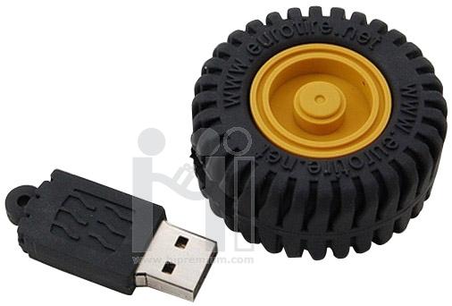USB Flash Drive แฟลชไดร์ฟรูปล้อรถ ยางรถ