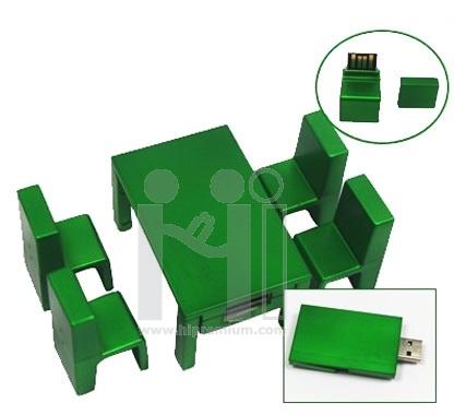 USB Flash Drive แฟลชไดร์ฟชุดโต๊ะและเก้าอี้