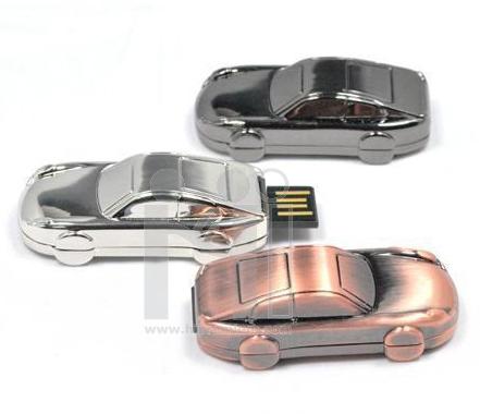 Flash Drive โลหะ แฟลชไดร์ฟรูปรถยนต์ รถเก๋ง
