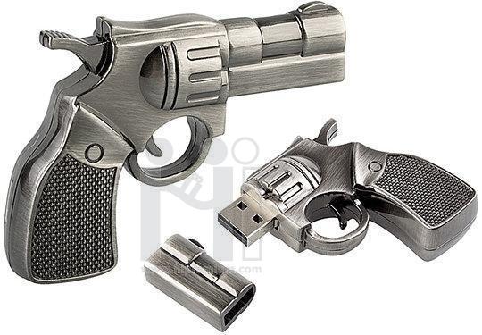 Flash Driveปืน , แฟลชไดร์ฟโลหะ