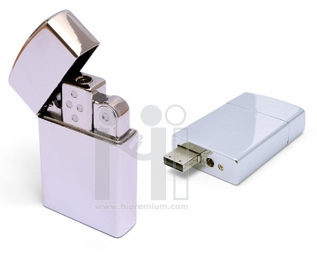 Flash Driveไฟแช็ค , แฟลชไดร์ฟโลหะ