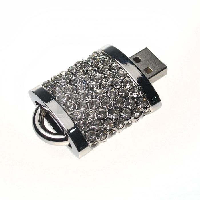 Flash Drive แฟลชไดร์ฟจิวเวอรี่รูปแม่กุญแจประดับคริสตัล