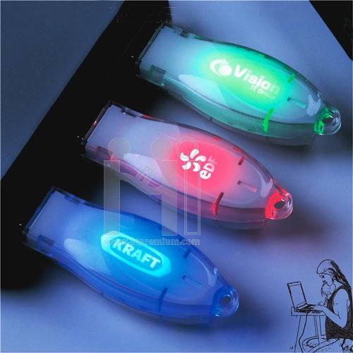 USB Flash Drive แฟลชไดร์ฟพลาสติก แฟลชไดร์ฟเรืองแสงเป็นรูปโลโก้สั่งทำได้