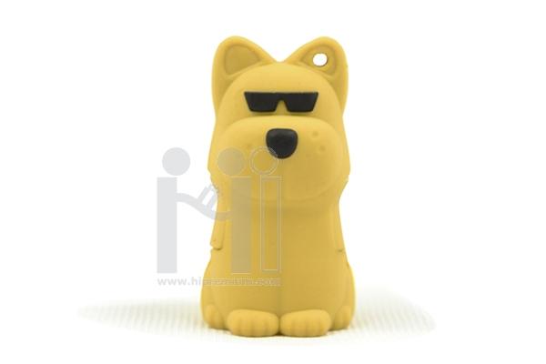 USB Flash Drive แฟลชไดร์ฟสัตว์ตัวการ์ตูนหมาสวมแว่นตา
