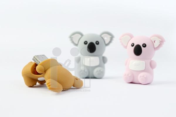 USB Flash Drive แฟลชไดร์ฟตัวการ์ตูนรูปหมีโคอาล่า