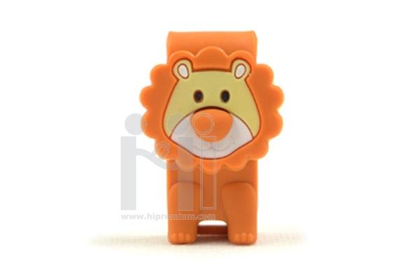USB Flash Drive แฟลชไดร์ฟสัตว์ตัวการ์ตูนสิงโต